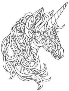 unicornios para dibujar