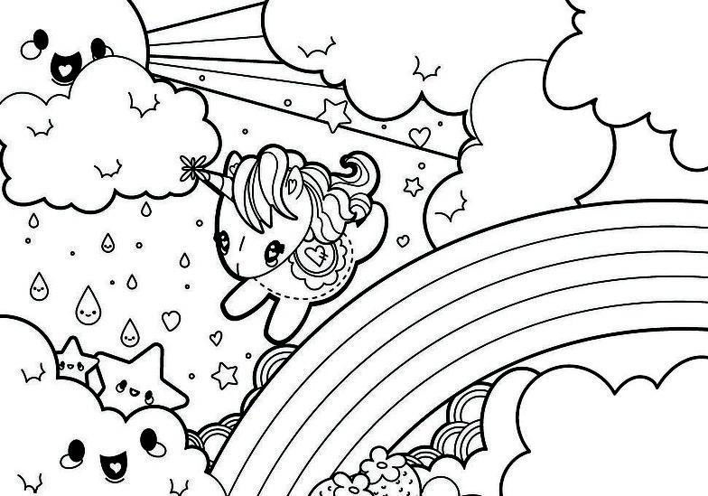 Dibujos De Unicornio Unicornios Para Colorear