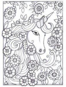 unicornio para pintar