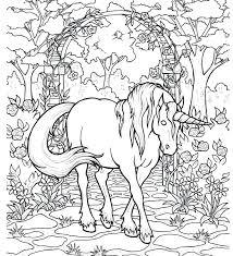 unicornio clásico colorearunicornio clásico colorear