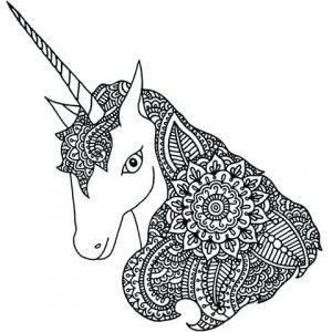 unicornio dibujo