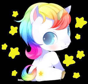 unicornio kawai